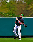 17 March 2009: Atlanta Braves' outfielder Matt Diaz in action during a Spring Training game against the New York Mets at Disney's Wide World of Sports in Orlando, Florida. The Braves defeated the Mets 5-1 in the Saint Patrick's Day Grapefruit League matchup. Mandatory Photo Credit: Ed Wolfstein Photo