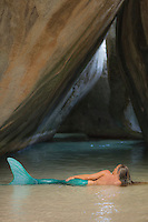 Mermaid in The Cathedral at The Baths<br />