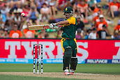 15.02.2015. Hamilton, New Zealand.  South Africa's JP Duminy batting during the ICC Cricket World Cup match - South Africa versus Zimbabwe at Seddon Park, Hamilton, New Zealand on Sunday 15 February 2015.