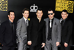 New Kids On The Block 2008  Danny Wood,Joey McIntyre, Jordan Knight, Donnie Wahlberg and Jonathan Knight at the 2008 American Music Awards at the Nokia Theatre, Los Angeles on 23rd November 2008.