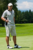 Jure Kosia, former Slovenian skier, at Anze's Eleven and SKB Charity Golf Tournament, on June 11, 2011 in Golf court Bled, Slovenia. (Photo by Matic Klansek Velej / Sportida)