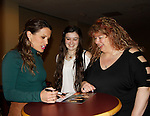 Melissa Claire Egan and fans - The Young and The Restless - Genoa City Live celebrating over 40 years with on February 27. 2016 at The Lyric Opera House, Baltimore, Maryland on stage with questions and answers followed with autographs and photos in the theater.  (Photo by Sue Coflin/Max Photos)
