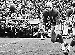 Ken Pleon Blue Bombers quarterback 1965 Grey Cup. Copyright photograph Ted Grant