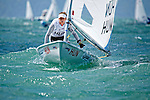 HungaryLaser RadialWomenHelmHUNME1M&aacute;ria&Eacute;rdi<br /> Day1, 2015 Youth Sailing World Championships,<br /> Langkawi, Malaysia