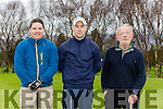 Denis Dennehy and Jack Ahern playing around at the Moss Keane memorial golf tournament in Killorglin Golf course on Saturday