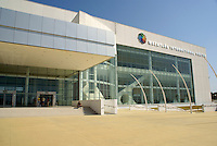 The Mazatlan International Center, a new convention center in Mazatlan, Sinaloa, Mexico