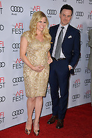 LOS ANGELES, CA. November 10, 2016: Actress Megan Hilty &amp; husband Brian Gallagher at World Premiere of &quot;Rules Don't Apply&quot;, part of the AFI Fest 2016, at the TCL Chinese Theatre, Hollywood.<br /> Picture: Paul Smith/Featureflash/SilverHub 0208 004 5359/ 07711 972644 Editors@silverhubmedia.com