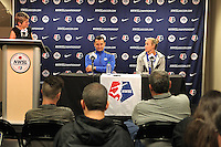 FC Kansas City Training and Press Conference, September 30, 2015