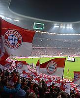 FUSSBALL   1. BUNDESLIGA  SAISON 2012/2013   15. Spieltag FC Bayern Muenchen - Borussia Dortmund     01.12.2012 Stadionuebersicht Allianz Arena Muenchen