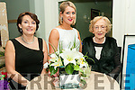 Aras Mhuire Black  Tie Ball: Pictured at the Black Tie Ball in aid of Aras Mhuire Nursing home. Listowel held in The Listowel Arms Hotel on Saturday night last were Joan O'Connor, Ballybunion Nollaig McCrthy & Joan Chute, Listowel.