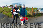 At Ballyduff Coursing on Sunday wereChris Houlihan, Mark Houlihan with Cashen Sammer from Ballyduff