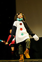 Dec. 21  Tokyo, Japan. 12-year-old actress dances at Tokyo FM Hall during the Yona Yona Party preview on Dec. 21, 2009. The 12-year-old actress plays Coco in Yona Yona Penguin, an animated film by the Japanese anime studio Madhouse and sister company Dynamo Pictures. The Madhouse's first fully 3D CGI movie, directed by Rintaro, known for Galaxy Express 999 and Metropolis,  premieres in Japan on December 23, 2009.