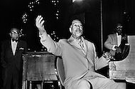 March 8th, 1971. Manhattan, New York City, New York State, USA. Duke Ellington Performing Before the Ali-Frazier Fight.