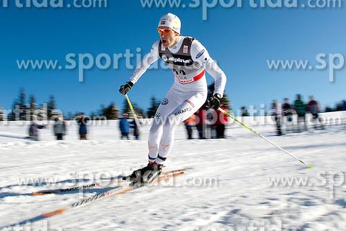 EDIN Johan (SWE) during Man 1.2 km Free Sprint Qualification race at FIS Cross Country World Cup Rogla 2011, on December 18, 2011 at Rogla, Slovenia. (Photo By Vid Ponikvar / Sportida.com)