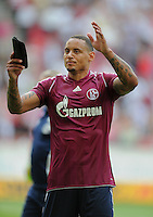 FUSSBALL   1. BUNDESLIGA  SAISON 2011/2012   1. Spieltag     06.08.2011 VfB Stuttgart - FC Schalke 04               Jermaine Jones (FC Schalke 04)  enttaeuscht