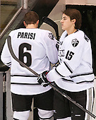 Tom Parisi (PC - 6), Steven McParland (PC - 15) - The Providence College Friars tied the visiting Boston College Eagles 3-3 on Friday, December 7, 2012, at Schneider Arena in Providence, Rhode Island.