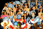 LAURA FONG | SUMMER KENT STATER About 3,000 Obama supporters came out to see the President at the John S. Knight Center Wednesday.