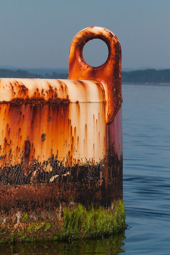 Harbor Bell, Castine, Maine, US
