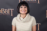 """Leticia Sola attends """"The Hobbit: An Unexpected Journey"""" premiere at the Callao cinema- Madrid."""