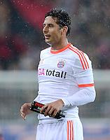 FUSSBALL   1. BUNDESLIGA   SAISON 2012/2013  15. SPIELTAG     SC Freiburg - FC Bayern Muenchen      28.11.2012 Claudio Pizarro (FC Bayern Muenchen)