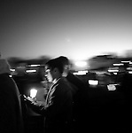 VATech shootings Day 2..Candlelight vigil on the Drill Field....photo: Hector Emanuel