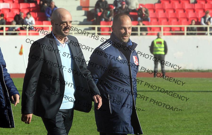Fudbal Super liga season 2015-2016<br /> Radnicki (Nis) v Borac<br /> Radnicki trener Milan Rastavac<br /> Nis, 1.11.2015.<br /> foto: Sasa Djordjevic/Starsportphoto &copy;