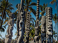 Hawaii major monuments, historic and cultural sites throughout the state. Including natural wonders, Ancient sites and old cultural buildings.