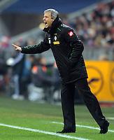 FUSSBALL   1. BUNDESLIGA  SAISON 2012/2013   17. Spieltag FC Bayern Muenchen - Borussia Moenchengladbach    14.12.2012 Trainer Lucien Favre (Borussia Moenchengladbach)