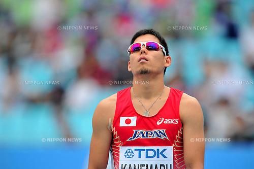 Oscar Pistorius (RSA),..AUGUST 28, 2011 - Athletics :The 13th IAAF World Championships in Athletics - Daegu 2011, Men's 400m Round 1 at the Daegu Stadium, Daegu, South Korea. (Photo by Jun Tsukida/AFLO SPORT) [0003]