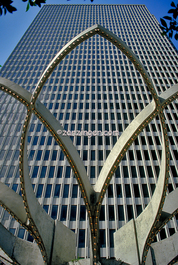 Embarcadero Center, San Francisco, CA, Concrete Detail, Close Up