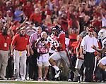 Ole Miss wide receiver Donte Moncrief (12) makes a catch vs. Texas at Vaught-Hemingway Stadium in Oxford, Miss. on Saturday, September 15, 2012. Texas won 66-21. Ole Miss falls to 2-1.