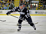 1 February 2008: University of New Hampshire Wildcats' forward James vanRiemsdyk, a Freshman from Middletown, NJ, skates against the University of Vermont Catamounts at Gutterson Fieldhouse in Burlington, Vermont. The seventh-ranked Wildcats defeated the Catamounts 5-1in front of a sellout crowd of 4,003...Mandatory Photo Credit: Ed Wolfstein Photo