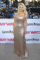 MIAMI BEACH, FL - MAY 13: Pamela Anderson attends the Baywatch Movie Premiere at Lummus Park on May 13, 2017 in Miami Beach, Florida. Credit: mpi04/MediaPunch