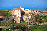 Small hamlet of Predo??ica, Cres Island Croatia