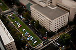 Tilt-shift images from the top of the US Bank Tower, September 19, 2010.