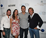 Brandon Freid, Alexi Ashe, Seth Meyers and Hank Freid Attend Seth Meyers at Gotham magazine's 'The Men's Issue' release party at The Sanctuary Hotel powered by CÎROC Vodka, NY
