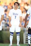 09 September 2011: Duke's Andrew Morales. The University of Virginia Cavaliers defeated the Duke University Blue Devils 1-0 at Koskinen Stadium in Durham, North Carolina in an NCAA Division I Men's Soccer game.