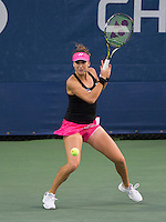 BELINDA BENCIC (SUI)<br /> <br /> The US Open Tennis Championships 2015 - USTA Billie Jean King National Tennis Centre -  Flushing - New York - USA -   ATP - ITF -WTA  2015  - Grand Slam - USA  <br /> <br /> &copy; AMN IMAGES