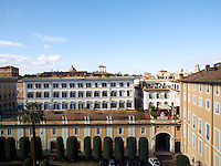The Palazzo Colonna is a palatial block of buildings in central Rome, Italy, at the base of the Quirinal Hill.