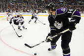 Justin Williams (Los Angeles Kings, #14) during ice-hockey match between Los Angeles Kings and Colorado Avalanche in NHL league, February 26, 2011 at Staples Center, Los Angeles, USA. (Photo By Matic Klansek Velej / Sportida.com)
