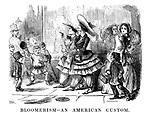 Bloomerism - An American Custom.