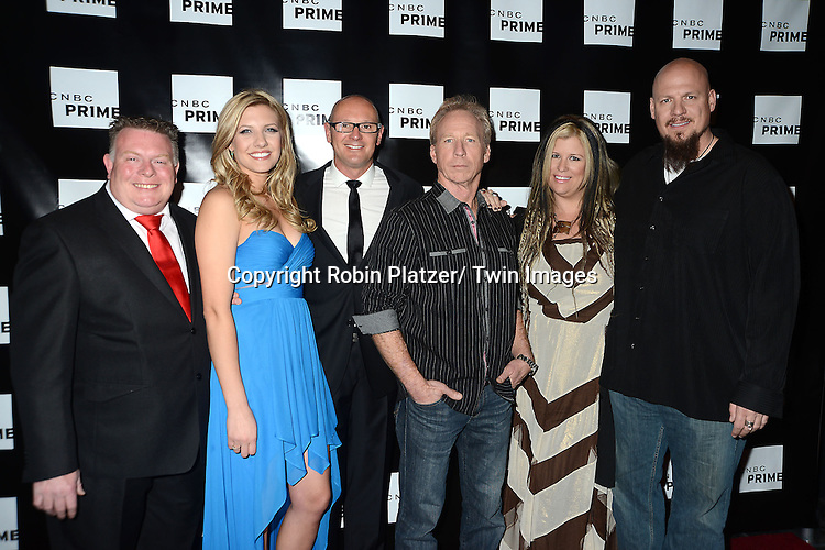 """Treasure Detectives and The Car Chasers casts attend the CNBC Launch Event for their new primetime shows on February 28, 2013 at Classic Car Club Manhattan in New York City. The two new shows are .""""Treasure Detectives"""" and """"The Car Chasers"""" which will be shown on Tuesday nights."""