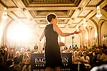 GOP Presidential candidate Rep. Michele Bachmann speaks at a rally in Davenport, Iowa, July 24, 2011.
