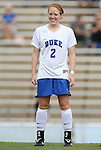 30 August 2009: Duke's Rebecca Allen. The Duke University Blue Devils lost 3-2 to the University of Central Florida Knights at Fetzer Field in Chapel Hill, North Carolina in an NCAA Division I Women's college soccer game.
