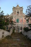 Isola di Pianosa.Pianosa Island.Pianosa. Il borgo.Village.La casa dell'agronomo. The house agronomist..
