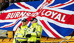 St Johnstone v Rangers....13.05.12   SPL.Anti-Sectarian Police keep an eye on the Rangers fans.Picture by Graeme Hart..Copyright Perthshire Picture Agency.Tel: 01738 623350  Mobile: 07990 594431
