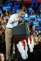 Barack Obama habla en Palm Beach