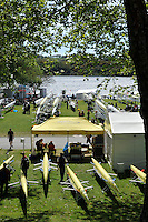 Hamilton, NEW ZEALAND.  GV's General views of the  the boating area. 2010 World Rowing Championship on Lake Karapiro Friday  29/10/2010. [Mandatory Credit Peter Spurrier:Intersport Images].