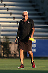 17 September 2016: Boston College assistant coach Mike LaVigne. The Duke University Blue Devils hosted the Boston College Eagles at Koskinen Stadium in Durham, North Carolina in a 2016 NCAA Division I Women's Soccer match. Duke won the game 3-2.