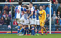 Blackburn Rovers' Elliott Bennett celebrates scoring his sides first goal <br /> <br /> Photographer Rachel Holborn/CameraSport<br /> <br /> The EFL Sky Bet Championship - Blackburn Rovers v Preston North End - Saturday 18th March 2017 - Ewood Park - Blackburn<br /> <br /> World Copyright &copy; 2017 CameraSport. All rights reserved. 43 Linden Ave. Countesthorpe. Leicester. England. LE8 5PG - Tel: +44 (0) 116 277 4147 - admin@camerasport.com - www.camerasport.com